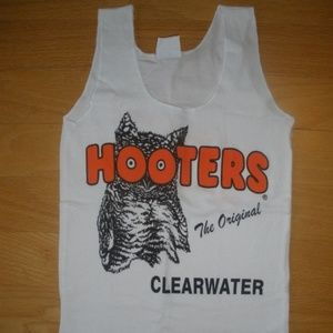 New Hooters Tank Shorts Pantyhose Pouch Large